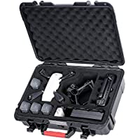 Smatree Carrying Case for DJI Spark, Waterproof Drone Case for 4 Spark Batteries, Remote Controller, Battery Charger and Propeller Guard