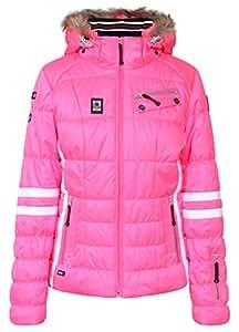 ICEPEAK Jacke Caia - Chaqueta de esquí para mujer, color rojo, talla 36