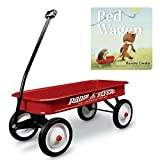Limited Edition Childhood Favorite Classic Red Wagon and Red Wagon Board Book, Radio Flyer 100th Anniversary Gift Bundle, Toddler Active Play, Kids Riding Toys, Books, Kids Fun Learning Adventure