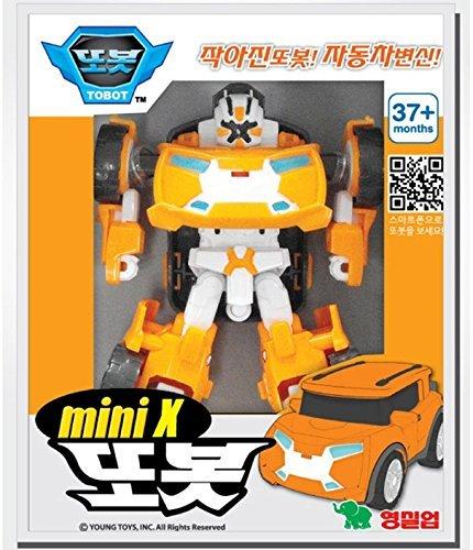 Tobot X Mini + Y Mini Transformer- Korean Animation Robot Character by Tobot Mini