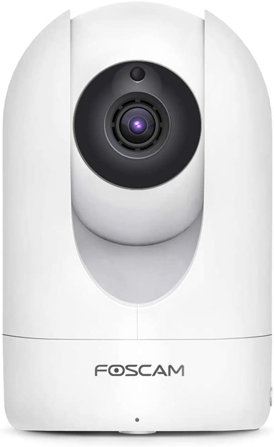 Foscam Security Camera WiFi IP Home Camera, 2K/4MP 2.4/5GHz Wireless Pet Camera Baby Monitor, 2-Way Audio, Human-Only & Sound Detection, Night Vision, Alexa Compatible, Free Cloud Service