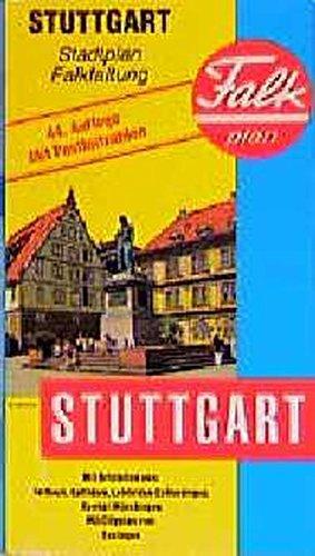 Stuttgart (Falk Plan) (German Edition)