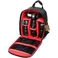 Camera Bag Camera Backpack By G-raphy for DSLR Cameras , Mirrorless Cameras ,Lens and other Accessories