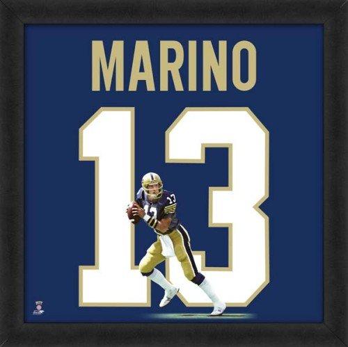 - Dan Marino Pittsburgh Panthers 20x20 Framed Uniframe Jersey Photo