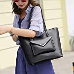 Clocolor Handbags for Women Top Handle Satchel Shoulder Bag Messenger Bags Tote Purse