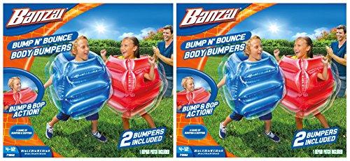 Banzai Kids Inflatable Mega Boxing Gloves - 1 Pair of Gloves (Set of 2) by Banzai