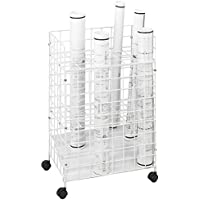 Safco Vertical Roll File - 20X14x32 - 24 Compartments