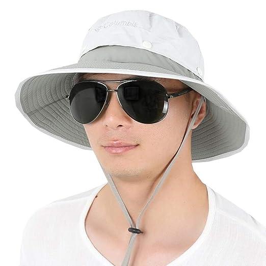 XUERUI Sombreros Sombrero para El Sol Masculino Sombrero Plegable ...