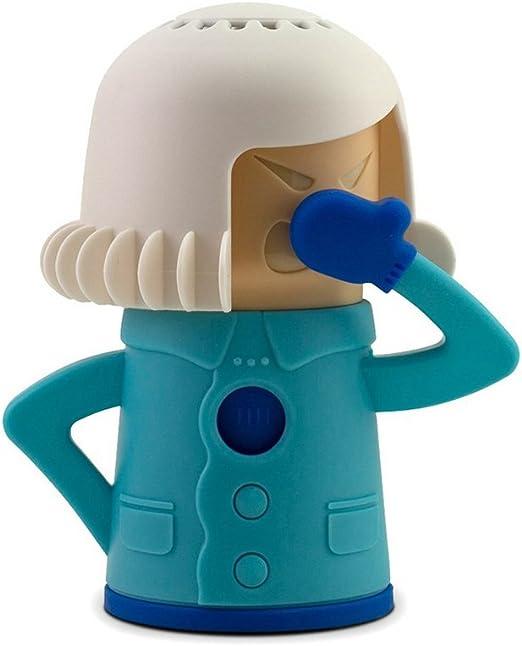 molog Angry Mama limpiador de microondas horno de vapor fácil ...