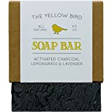Cleansing Oil Cystic Acne - Activated Charcoal Soap Bar. All Natural Detoxifying Face & Body Cleanser. Certified Organic Ingredients. Paraben & Sulfate Free. For Acne, Eczema, Psoriasis, Rosacea, Dry Sensitive Skin