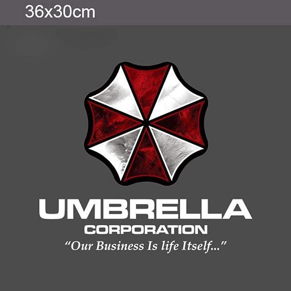 Na 35 90cm Farbige Umbrella Corporation Auto Styling Pvc Aufkleber Seitentür Körper Girlande Haubenkappe Coole Dekoration Aufkleber Sport Freizeit
