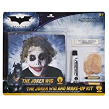 Rubies Costume Batman Deluxe Joker Wig And Make Up Kit