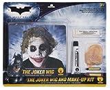 Joker Make Up und Perücke Set