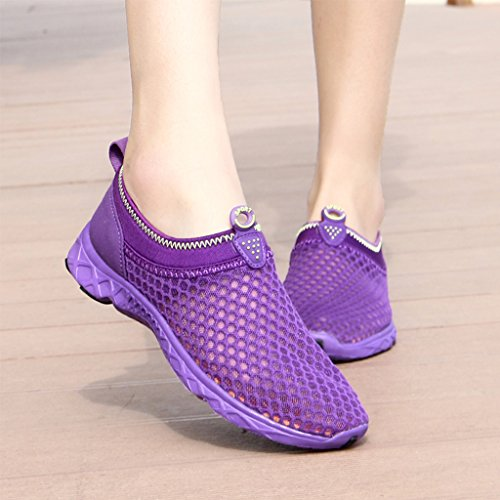 Purple Women's Ultifree On Mesh Water Shoes Slip Calm 7Rv7nw