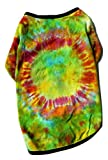 Best Dyes For Pets - Doggie Tee Tie Dye Shirt GreenOne of a Review