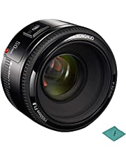 yongnuo YN50mm F1.8 Standard Prime Lens Large Aperture Auto Focus Lens Compatible with Canon EF Mount Rebel DSLR Camera (CXK5648617516965WD) photo