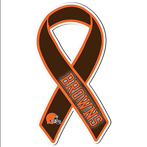NFL Cleveland Browns Ribbon Magnet