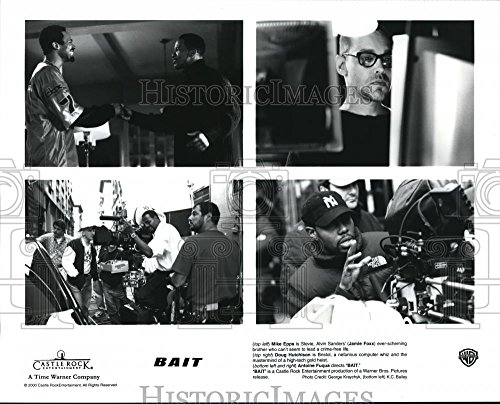 2000 Press Photo David Morse and Jamie Foxx in Bait - orp28519 (Bait Jamie Foxx)