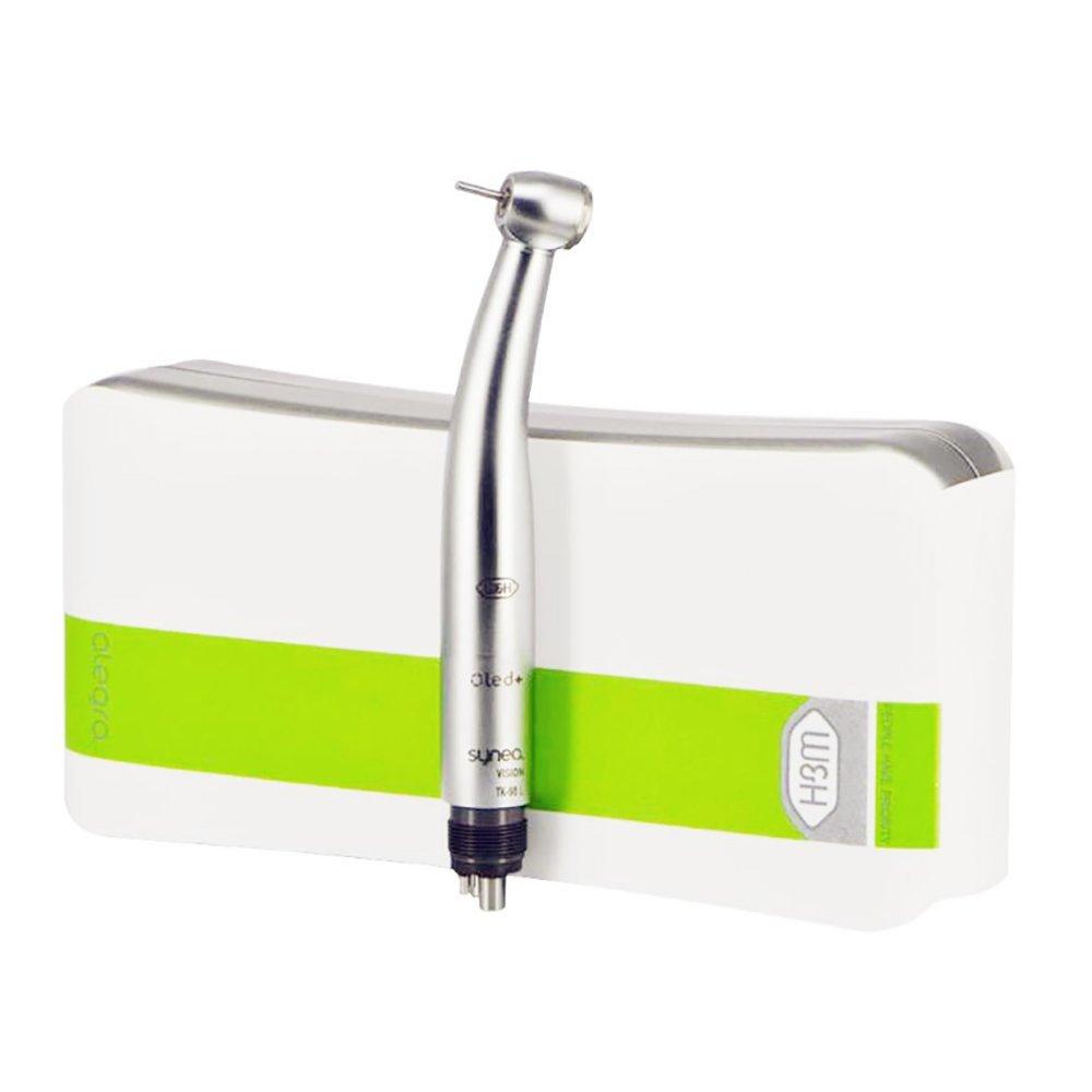 BeautySu. W&Hスタイル歯科用高速ハンドピース 5シャドウレスハイライトLED エアタービン セラミックベアリング プッシュボタン式 4穴 B07DFLC39H
