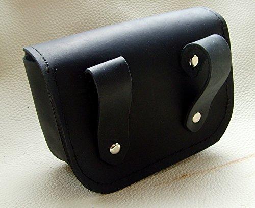 Gürteltasche Modell Eila Farbe schwarz-rot