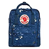 Fjallraven - Kanken Art Special Edition Mini Backpack for Everyday, Blue Fable