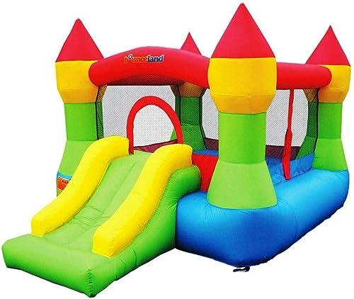 Bounceland-Bounce-House-Castle-with-Basketball-Hoop-Inflatable-Bouncer