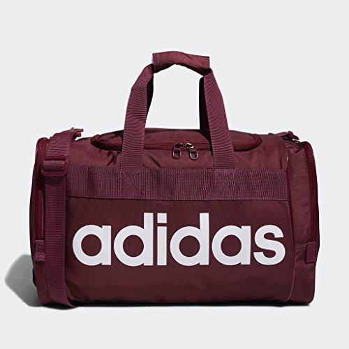 adidas Originals Santiago Duffel Bag, Collegiate Burgundy/White, One Size