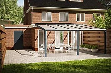 Cubierta para terraza de aluminio 706x300 Veranda COMFORTLINE