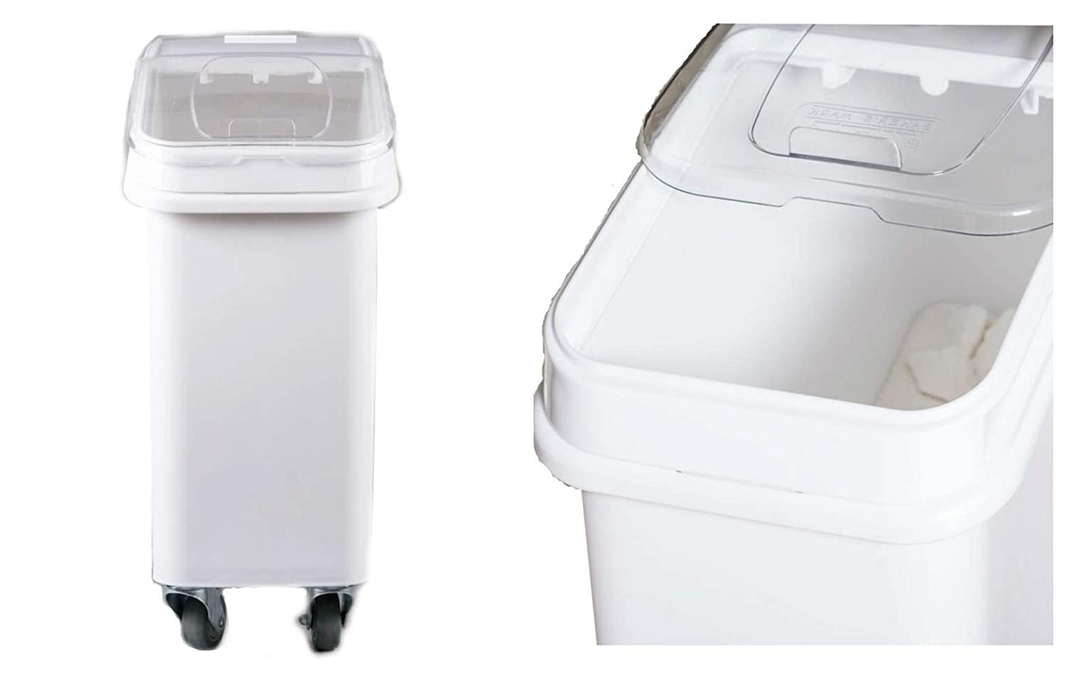 Dry Ingredient Bin Storage with Lid 21 Gallons