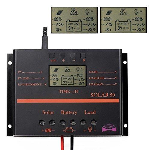 Sun Yoba Solar Charge Controller Solar Controller 60a 80a