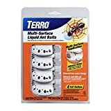 Terro t334 Adhesive Strips for Discreet Multi-Surface Liquid Ant Baits, 1 Pack, Orange