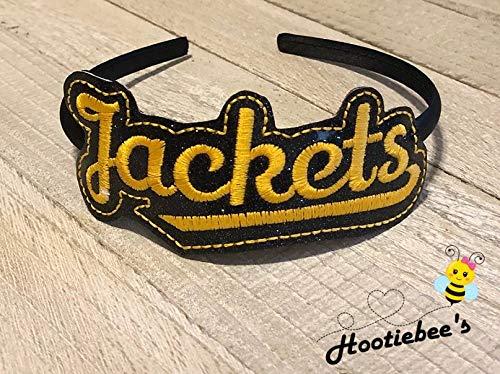 JACKETS Slider Headband (You Choose Colors)