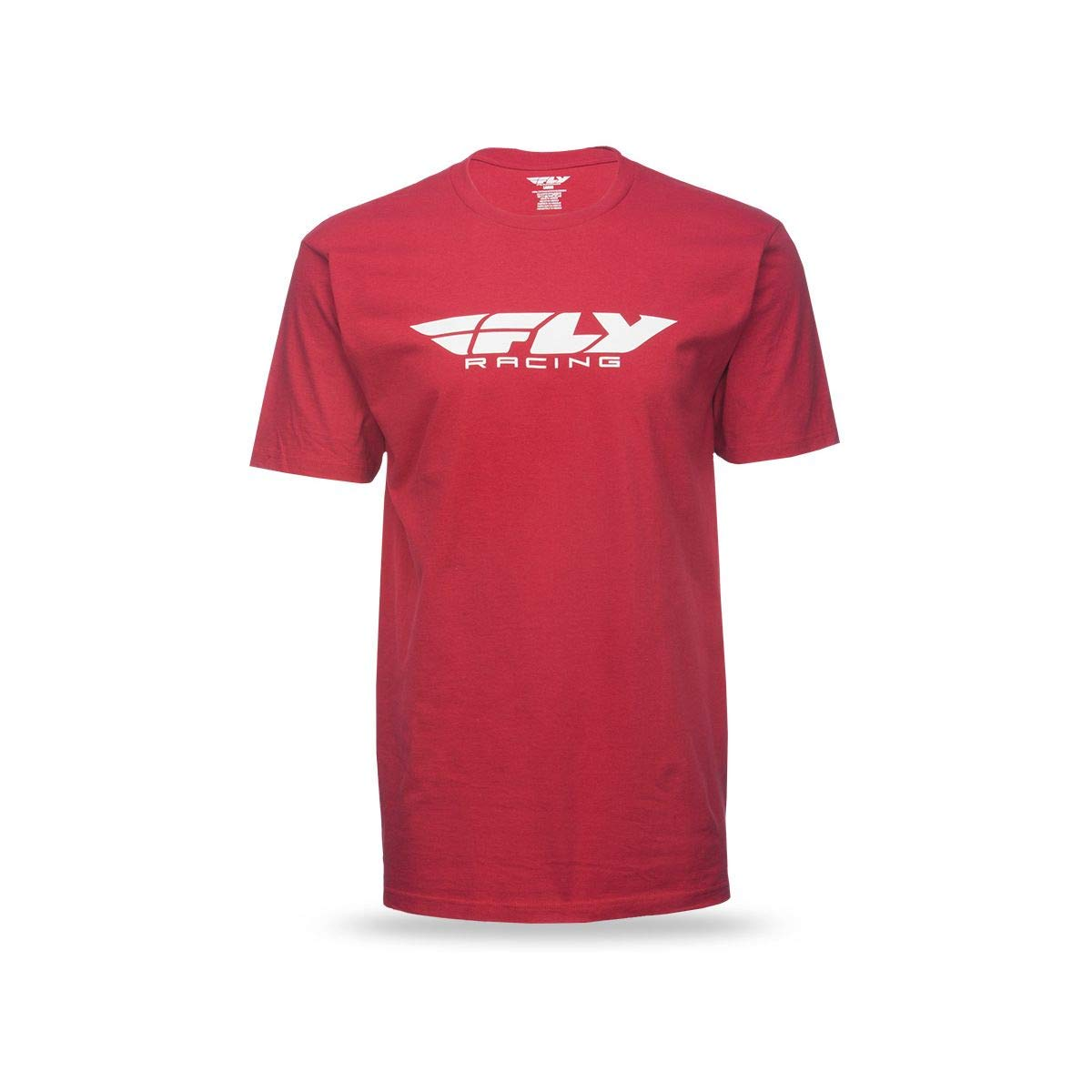 Fly Racing Corporate T-Shirt (Large) (RED) by Fly Racing