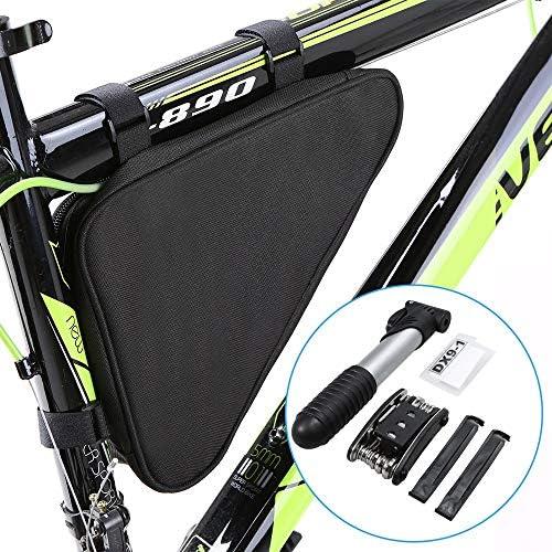 Z-Y バイクバッグ バイクバッグ 自転車バッグ自転車修理ツールミニポンプ16で-1マルチツールスクリュードライバーツールレンチサイクリング修復ツールセットでバイクバッグ #z (Color : Repair Tool Set)