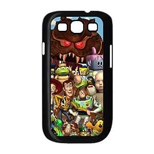 Toy Story 3 Samsung Galaxy S3 9300 Cell Phone Case Black qxdp