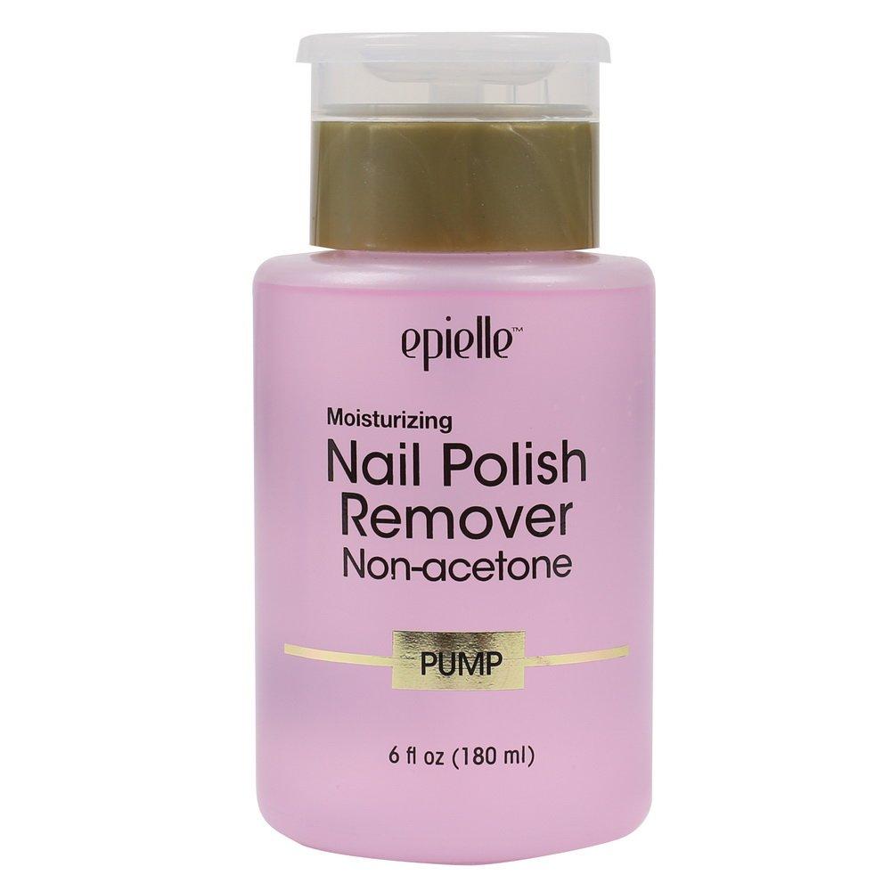 Epielle Moisturizing Nail Polish Remover Non-acetone Pump, 6 Ounce Sleep with a Purpose Inc.