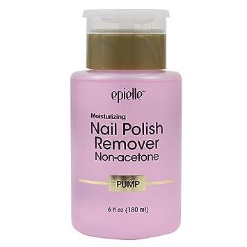Amazon.com: Epielle Nail Polish Remover Non-acetone Pump, 180ml (1 ...