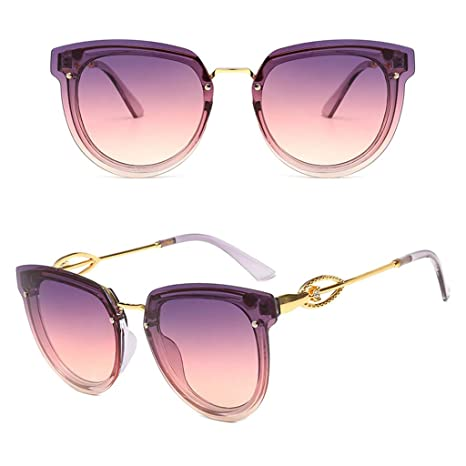 CADANIA Gafas de Sol Mujer Gafas de Sol de imitación con ...