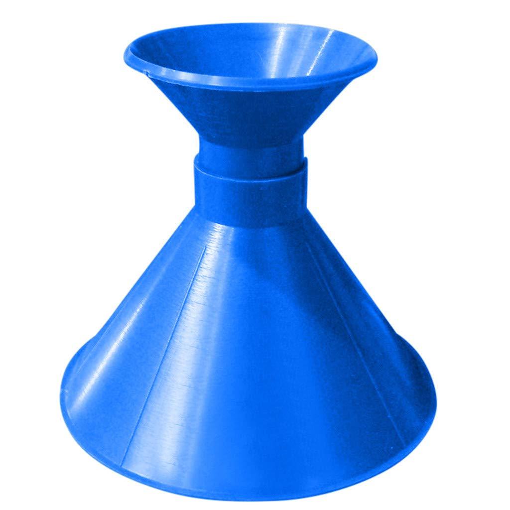 Scrape A Round Ice Scraper Magic Cone-Shaped Windshield Ice Scraper Car Snow Removal Shovel Tool (Blue)