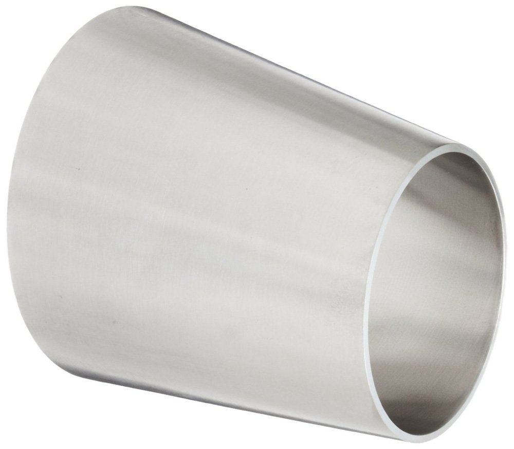 Steel and Obrien CAN01060-316 Stainless Steel 32W Eccentric Reducer 1 x 3//4 x 1 OAL 1 x 3//4 x 1 OAL
