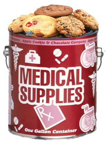 Medical Supplies Cookie Gallon - Assorted Baked Fresh by Apple Cookie & Chocolate Co