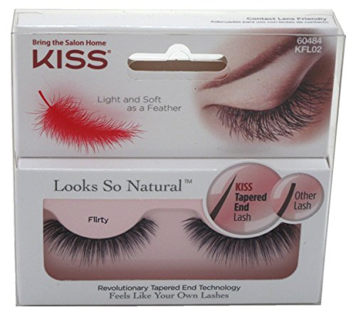 ad198f3b0cc Kiss Looks So Natural Eyelashes, 60484 Flirty, 1 pr - Buy Online in UAE. |  Misc. Products in the UAE - See Prices, Reviews and Free Delivery in Dubai,  ...