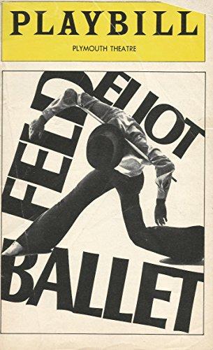 Feld Eliot Ballet PLaybill