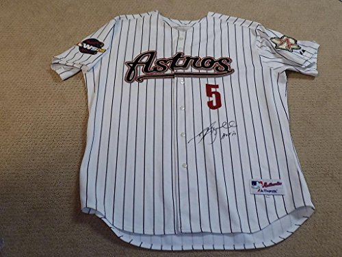 Signed Jeff Bagwell Jersey - 2005 World Series Game HOF - Tristar Productions Certified - Autographed MLB ()