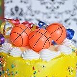 Basketball Cake Topper Set of 6