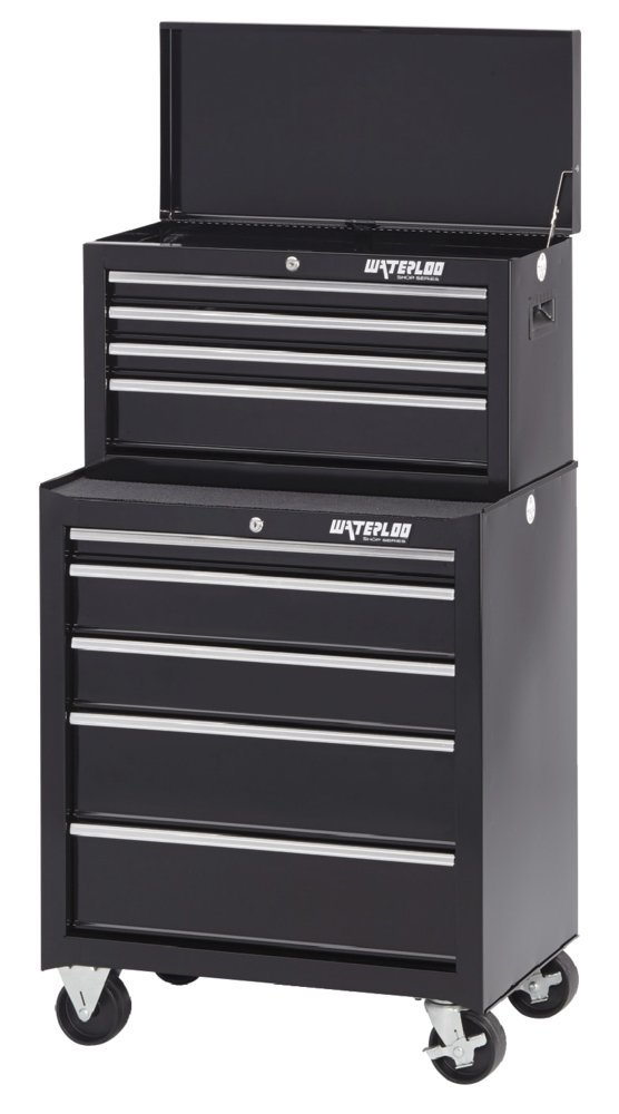 Waterloo 5-Drawer Ball-Bearing Tool Cabinet, 26'' W - Designed, Engineered and Assembled in the USA