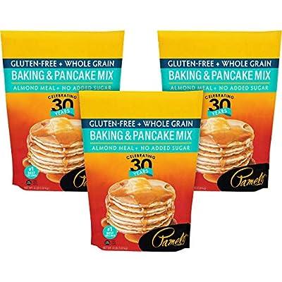 Pamelas Mix Pancake Baking Wf Gf, 64 Oz, Pk- 3