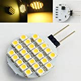 (Pack of 4) Brand New G4 24SMD LED Warm White Home Caninet RV Boat Camper Marine Car Light Bulbs 12V