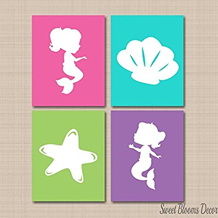 51u8Z7u4QHL._SS450_ Mermaid Wall Art and Mermaid Wall Decor