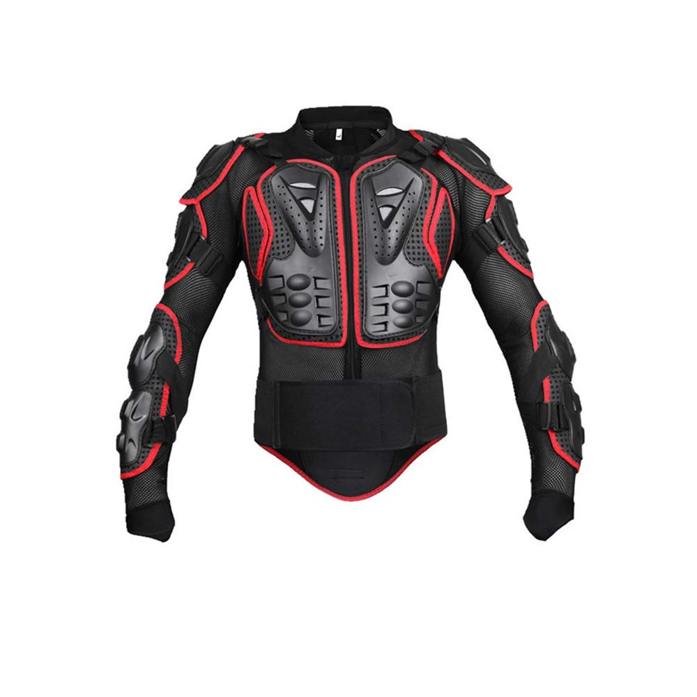 JMETRIE Women's Motorcycle Full Body Armor Motocross Racing Spine Chest Protecto Coat Jacket